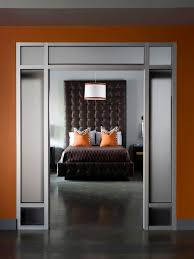 Grey And Orange Bedroom Ideas by Gray Master Bedrooms Ideas Hgtv