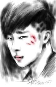 sketch sungjong digital art sketch guru app infinite