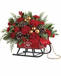 christmas flowers christmas flowers delivery ks owens flower shop inc