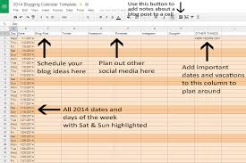 get your blog organized in 2014 free blog calendar template