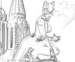 catwoman coloring sheets 408531 coloring pages for free 2015