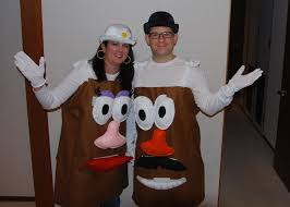 Potato Head Halloween Costume Heads Felt Cute