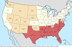 Civil War States Map Civil War Us Map Map Holiday Travel Holidaymapqcom Civil War Map