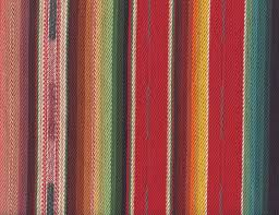 aztec stripe heavyweight woven upholstery red home decor stripes