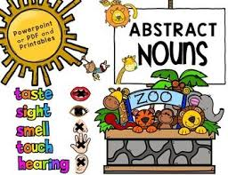 abstract nouns abstract nouns animal themes and quizes