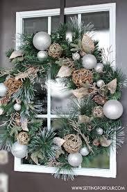 best 25 wreaths and garlands ideas on brick