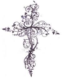 cross designs for wooden cross tattoos designs