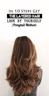 rusk ponytail method pictures how to do layers the ponytail method on curly african american hair
