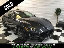 grey maserati granturismo used maserati granturismo v8 s 2dr automatic for sale in