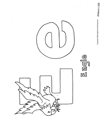 e is for coloring page 483280