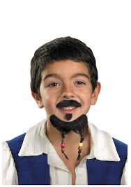 jack sparrow costume spirit halloween kid u0027s jack sparrow mustache u0026 goatee