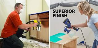 how to paint kitchen cabinets sprayer how to choose the best paint sprayer for kitchen cabinets