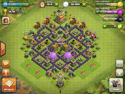 Coc Maps Epic Town Hall 7 Base Design Works In The Gold League And Down