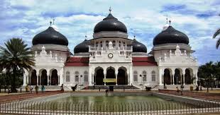 masjid raya baiturrahman saksi sejarah di banda aceh aceh