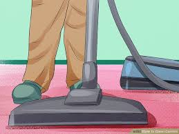 how to vacuum carpet 3 easy ways to clean carpets with pictures wikihow
