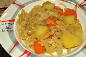 cuisiner chou frisé chou frisé braisé végétarienne à la cagne
