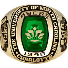 Uncc Barnes And Noble Niner Connection Official 49er Ring