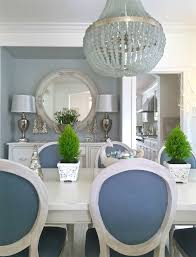 Blue And White Dining Chairs by Kristy Wicks U0027 Blue U0026 White Dining Room