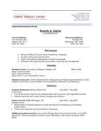 job resume volunteer experience httpwww resumecareer infojob
