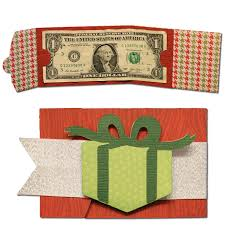 bits of paper gift card and money holders