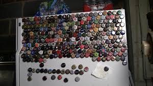 Beer Bottle Refrigerator Glass Door by How To Make Beer Fridge Magnet Bottle Caps A Good Fun Imbibing