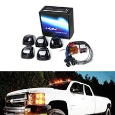 led lights for pickup trucks amber smoked roof cab marker running led lights for truck suv