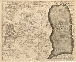 Map Of The Dead Antique Maps Of The Holy Land