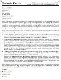 acquisition program manager cover letter