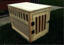 Diy End Table Dog Crate by Dog Crate End Tables Foter