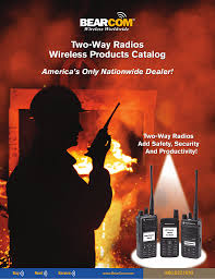 two way radios wireless products catalog