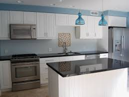 bright and blue and beautiful kitchen remodel ikea cabinets