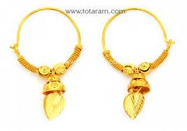 baby hoop earrings gold baby hoop earrings ear bali in 22k gold 235 ger7233 in