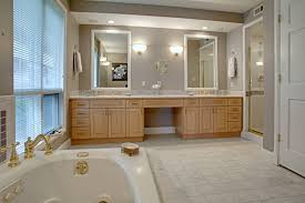 bathroom pretty shutter window plus white vanity cabinets feat bathroom glass shower design small