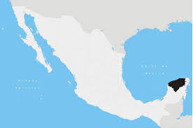 map of mexico yucatan region discover the attractions of yucatan state
