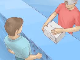 Which Side Of The Envelope Does The Stamp Go On How To Ship A Package At The Post Office 5 Steps With Pictures
