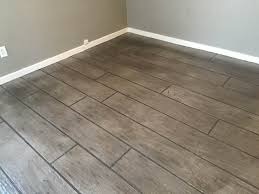 Laminate Flooring On Concrete Slab All Around Surfaces Wood Look Concrete Overlay Flooring