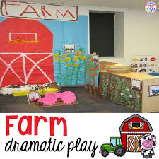 center ideas farm in the dramatic play center pocket of preschool