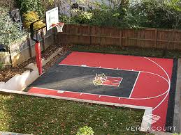 Backyard Sport Court Cost by How To Paint A Basketball Court Kaboom Finish The House
