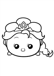 kids fun 27 coloring pages tsum tsum