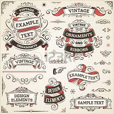 vintage ribbon 264 550 vintage ribbon stock vector illustration and royalty free