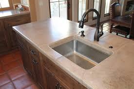 Kitchen Sink Countertop Concrete Countertops Tucson Az Zona Decorative Concrete