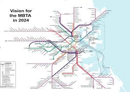 Boston Metro Map by Boston Subway Map Green Line U2013 World Map Weltkarte Peta Dunia