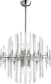 Cyan Design Chandelier Atom 8lt Pendant Polished Nickel Luxury Home Lighting