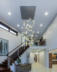 Entry Chandelier Flush Mount Chandelier In Entry Contemporary With Next To Bocci