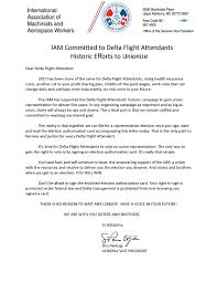 Simple Authorization Letter Act Behalf iam delta flight attendants latest news and info