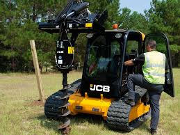 tracked skid steer track loaders jcb 190t jcb pinterest