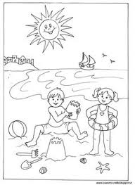 Building Sand Castle Coloring Page Kid Crafts For Summer Sandcastle Coloring Page