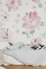 floral wallpaper flower wallpaper wall mural floral home