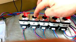 ramps 1 4 testing stepper motor reprap youtube