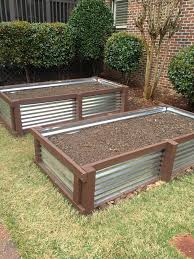 18 corrugated metal garden beds build a garden bed with